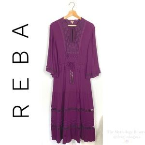 Reba Moonlight Bliss Midi Dress